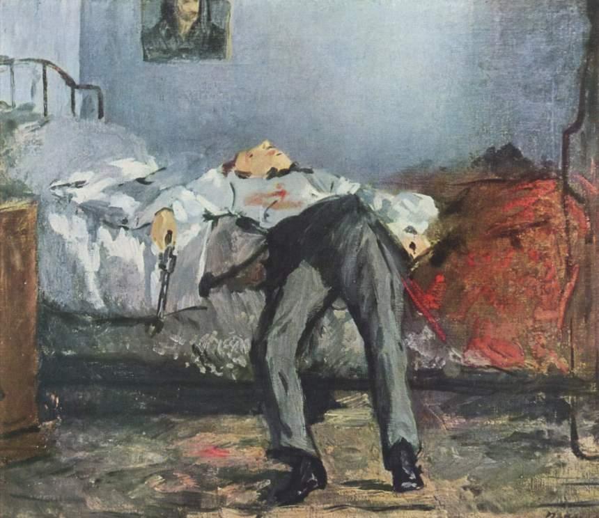 """Le Suicide"" - Edouard Manet"