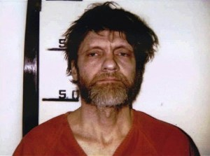 Ted Kaczynski after his capture in 1996.