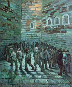 """Prisoners Exercising"" by Vincent Van Gogh"
