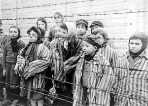 Child survivors of Auschwitz. From the Belarusian State Archive of Documentary Film and Photography.