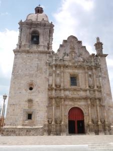 Colonial Church of San Sebastian, Mazatlan, Mexico.