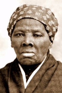 Harriet Tubman (1922-1913) at age 73, looking tough as ever. She even kept Death scared away until the age of 91.