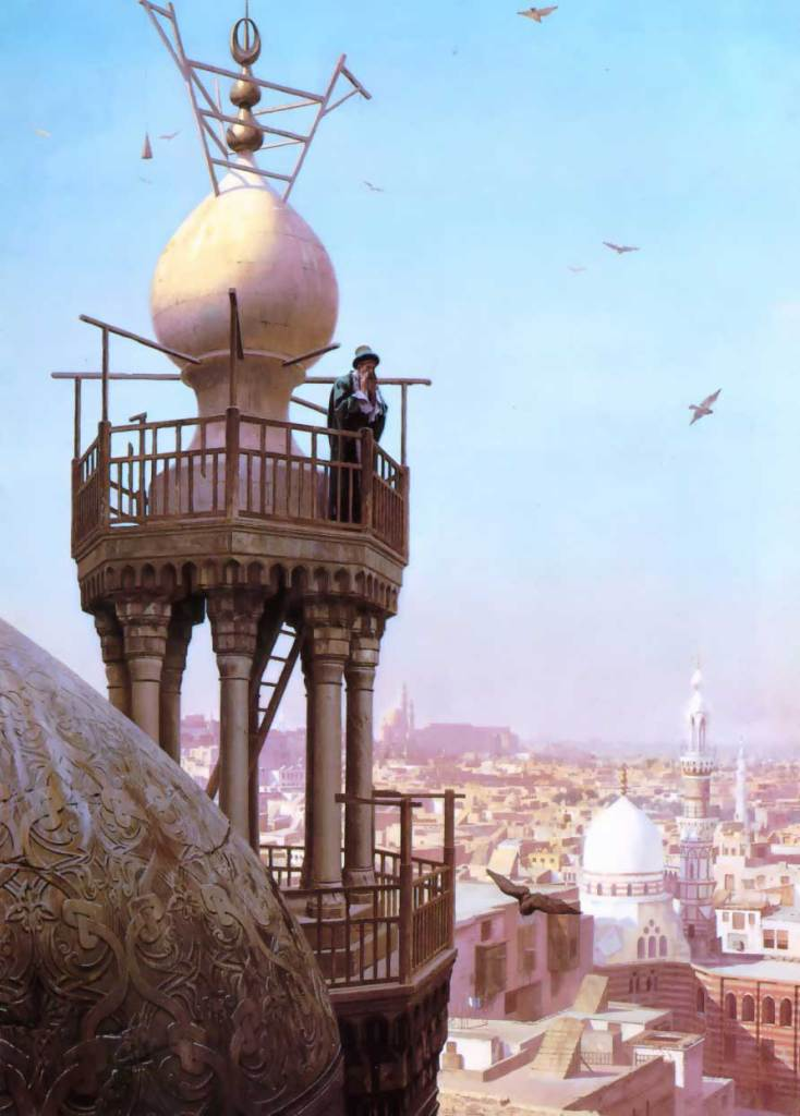 "Jean-Leon Gerome, ""The Muezzins Call to Prayer"""