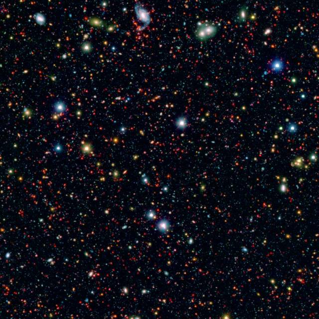 View of the Twilight Zone, from the Spitzer Space Telescope.