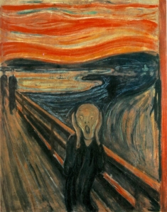 The Scream - Vincent van Gogh