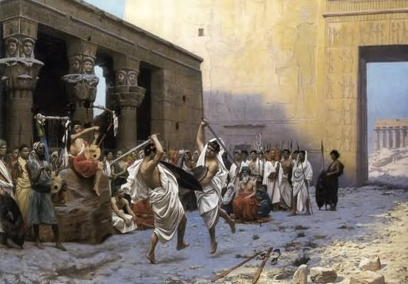 The Pyrrhic Dance, by Jean-Leon Gerome.